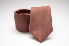 Prémium nyakkendő -  Karamell mintás Aprómintás nyakkendő