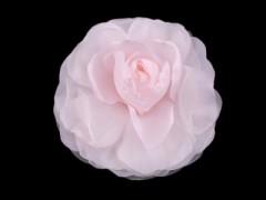 Rózsa kitűző - Rózsaszín Kitűzők, Brossok