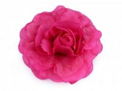 Rózsa kitűző - Pink Kitűzők, Brossok