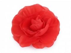 Rózsa kitűző - Piros Kitűzők, Brossok