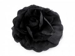 Rózsa kitűző - Fekete Kitűzők, Brossok