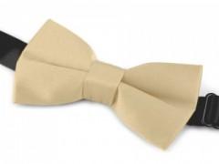 Gyerek szatén csokornyakkendő - Drapp Csokornyakkendő