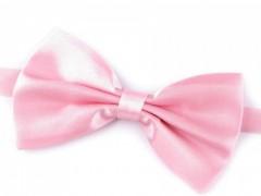 Szatén csokornyakkendő - Rózsaszín Csokornyakkendő