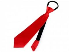 Gumis nyakkendő - Piros Party,figurás nyakkendő