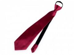 Gumis nyakkendő - Bordó Party,figurás nyakkendő