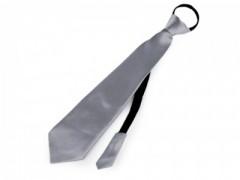 Gumis nyakkendő - Szürke Party,figurás nyakkendő