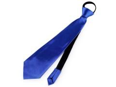 Gumis nyakkendő - Királykék Party,figurás nyakkendő