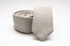 Prémium slim nyakkendő - Natur Kockás nyakkendők