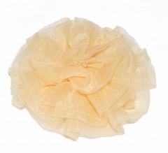 Rózsa dísz - Halványbarack Kitűzők, Brossok