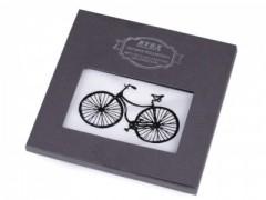 Ajándék zsebkendő szett  díszdobozban - Bicikli