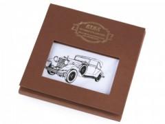 Ajándék zsebkendő szett  díszdobozban - Autó
