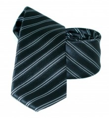 Goldenland slim nyakkendő - Fekete csíkos Csíkos nyakkendő