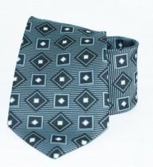 Roy  nyakkendő - Szürke mintás Kockás nyakkendők