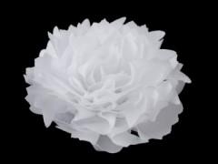 Szatén virág - Fehér Női kiegészítők