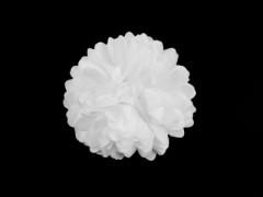 Virág kitűző - Fehér Kitűzők, Brossok