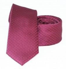 Goldenland slim nyakkendő - Meggybordó