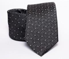 Prémium nyakkendő -  Fekete mintás Aprómintás nyakkendő