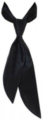 Zsorzsett női nyakkendő - Fekete Női nyakkendők, csokornyakkendő