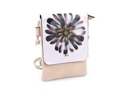 Kis női táska grafikával - 5 színben Női táska, pénztárca