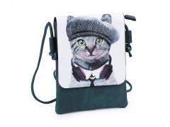 Kis női táska grafikával - 4 színben Női táska, pénztárca