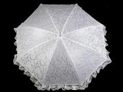 Lakodalmi esernyő csipkével Női esernyő,esőkabát
