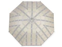 Női kilövős esernyő kockamintás  Női esernyő,esőkabát