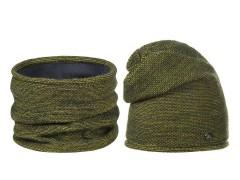 Női téli sapka és nyakmelegítő szett - Keki Női kalap, sapka