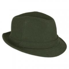 Férfi bécsi kalap - Vadászzöld Férfi kalap, sapka