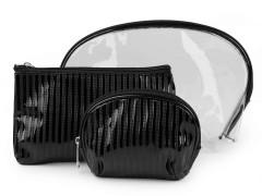 Kozmetikai táska szett - Fekete Tárolás, Tisztítás