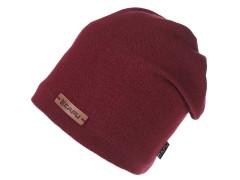 Unisex sapka lurexel - Bordó Női kalap, sapka