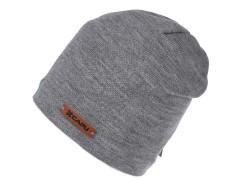 Unisex sapka lurexel - Szürke Női kalap, sapka
