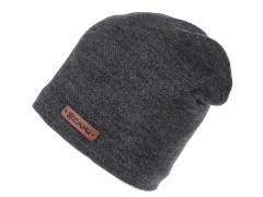 Unisex sapka lurexel - Grafit Női kalap, sapka