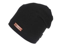 Unisex sapka lurexel - Fekete Női kalap, sapka