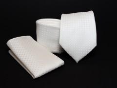 Prémium nyakkendő szett - Ecru mintás Mintás nyakkendők