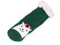 Gyerek téli zokni csúszásgátló állatokkal Gyermek zokni, mamusz
