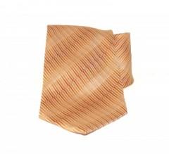 Saint Michael selyem nyakkendő - Narancs-sárga mintás Mintás nyakkendők