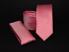Prémium slim nyakkendő szett - Lazac Szettek