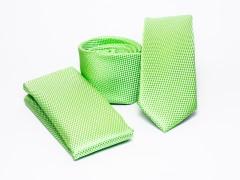 Prémium slim nyakkendő szett - Almazöld Nyakkendő szettek