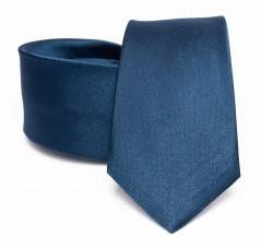 Prémium selyem nyakkendő - Farmerkék Selyem nyakkendők