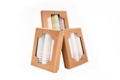 Női zsebkendő csomag dobozban - 3 db Zsebkendő