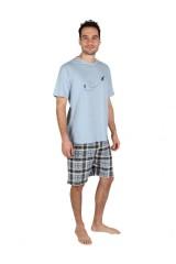 Albatros férfi 100 % pamut pizsama rövid Férfi zokni, pizsama