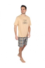 Bike férfi 100 % pamut pizsama rövid Férfi zokni, pizsama