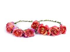Virág koszorú Ékszer, hajdísz