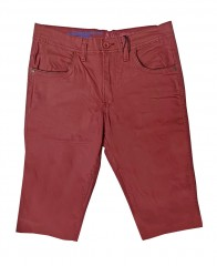 NK Pamut bermuda - Bordó Férfi nadrágok