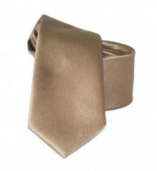 Goldenland slim nyakkendő - Caramell