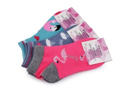 Kislány pamut titokzokni - 3 db/csomag Gyermek zokni, mamusz