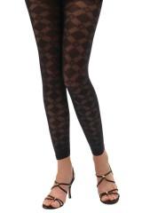 Miriam 55 den leggings - Fekete