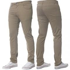 B-Roy pamut férfi nadrág - Világosbarna Férfi nadrágok