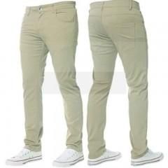 B-Roy pamut férfi nadrág - Világoskeki Férfi nadrágok