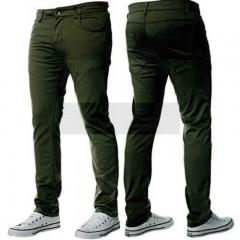 B-Roy pamut férfi nadrág - Sötétzöld Férfi nadrágok